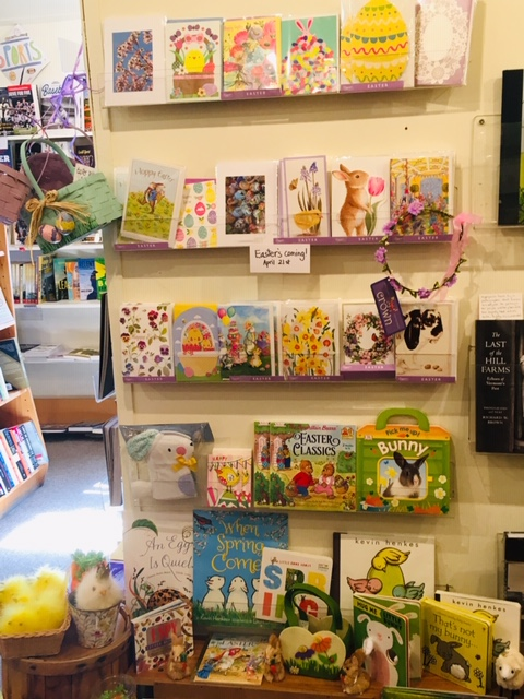 Image of our Easter Greeting Card Display