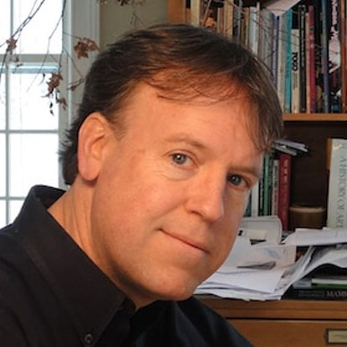 Head shot of author Brian Lies