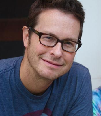 Head shot of author illustrator Scott Magoon