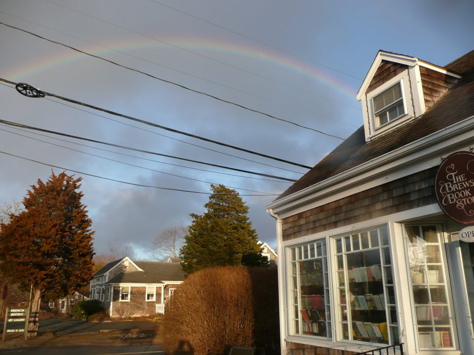 Rainbow Over the Book Store
