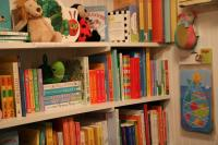 Toys, Plush, and Books in our Baby Room
