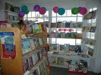 Children's area in the book store