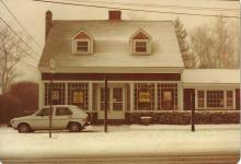 The Brewster Book Store in April 1982