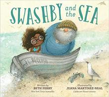 The Front Cover of Swashby and the Sea by Beth Ferry