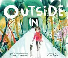 The Front Cover of Outside In by Deborah Underwood