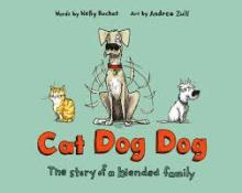 The Front Cover of Cat Dog Dog by Nelly Buchet