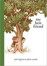 The Front Cover of My Best Friend by Julie Fogliano