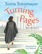 The Front Cover of Turning Pages by Sonia Sotomayor