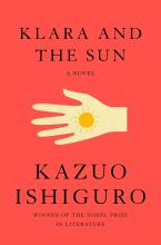 The Front Cover of Klara and the Sun by Kazuo Ishiguro