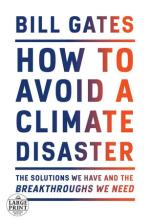 The Front Cover of How to Avoid a Climate Disaster by Bill Gates