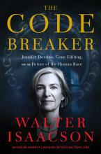 The Front Cover of The Code Breaker by Walter Isaacson