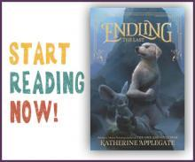 The dust jacket for Endling: The Last by Katherine Applegate