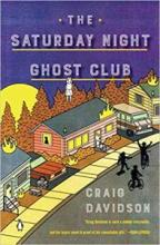 The Book Jacket of The Saturday Night Ghost Club