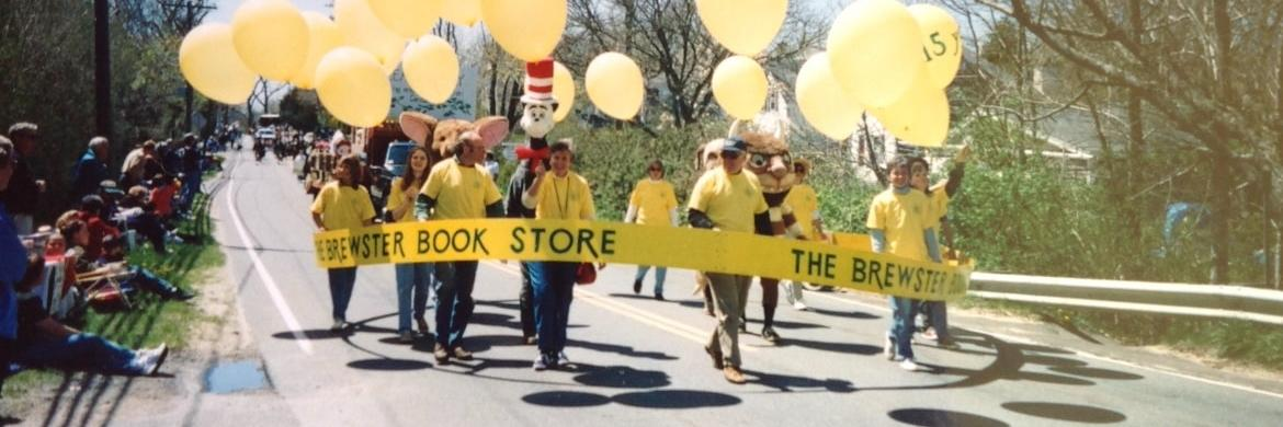 The Brewster Book Store Marches with Children's Picture Book Characters During the Brewster in Bloom Parade 1997