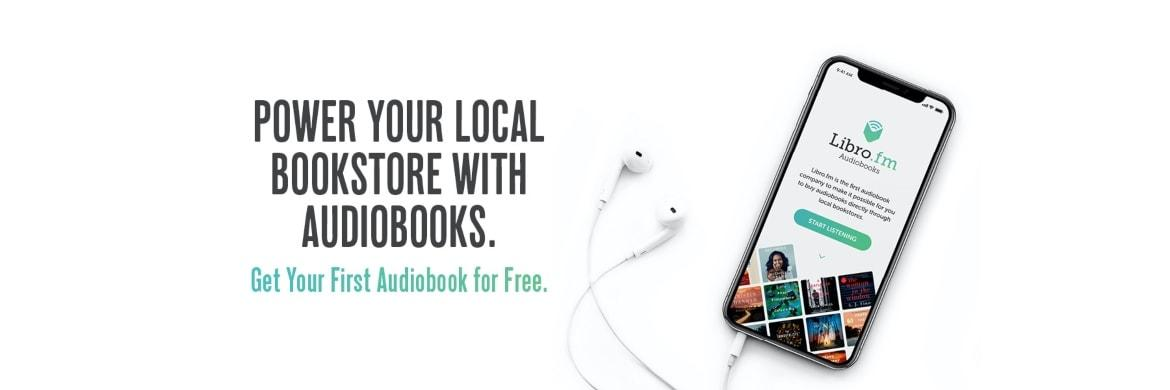 Libro.fm Power your local book store graphic