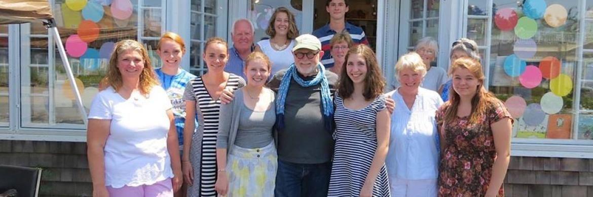 The Brewster Book Store Gang with Tomie dePaola
